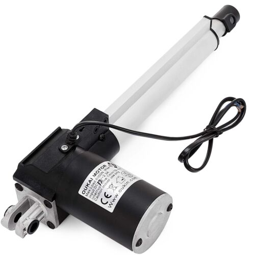 6000N Electric Linear Actuator 1320 Pound Max Lift Heavy Duty 12V DC Motor