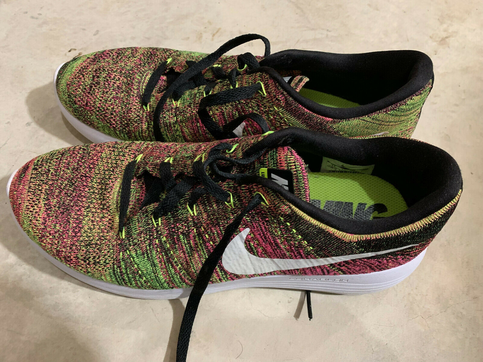 Nike Lunar Epic Low Flyknit 'Unlimited' Sneakers shoes size 11