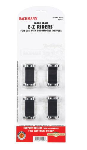 ofreciendo 100% 4 unidad Bachmann Loco rueda rueda rueda 92423 Rodamiento Rodillos De Pantalla Set Nuevo  distribución global