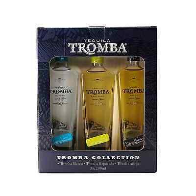 Tromba Tequila Minis Pack 3 x 200ml Spirit 3x 200ml
