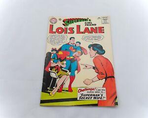 DC-Comics-Silver-Age-Superman-039-s-Girlfriend-Lois-Lane-55-1965