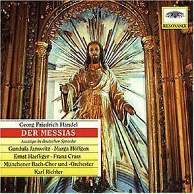 Händel | CD | Der Messias-Auszüge deutsch (DG) Gundula