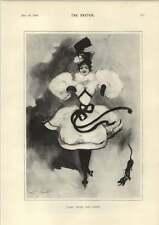 1898 First Prize Dog Show Artwork Miss Ada Blanche