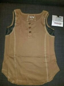 NWT-Jak-amp-Peppar-by-Mustard-Pie-Girls-Size-8-Sand-Dune-Motif-Tank-Top-Shirt