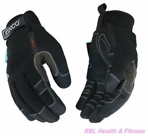 KINCO 2051 Mens Waterproof Winter Gloves - Ski Snowboard Bike Snow Cold Outdoor
