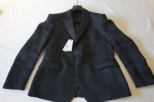 995 Versace Negro Nuevo noche de 54 Collection Chaqueta Talla Hw4Rxd