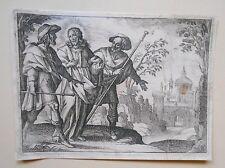 Maarten De Vos - Jésus et ses apôtres - Gravure au Burin - XVIème