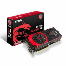 MSI AMD R9 Scheda Grafica Gaming 390 8GB GDDR 5 512-BIT Twin Frozr V 6100MHz 2xDVI