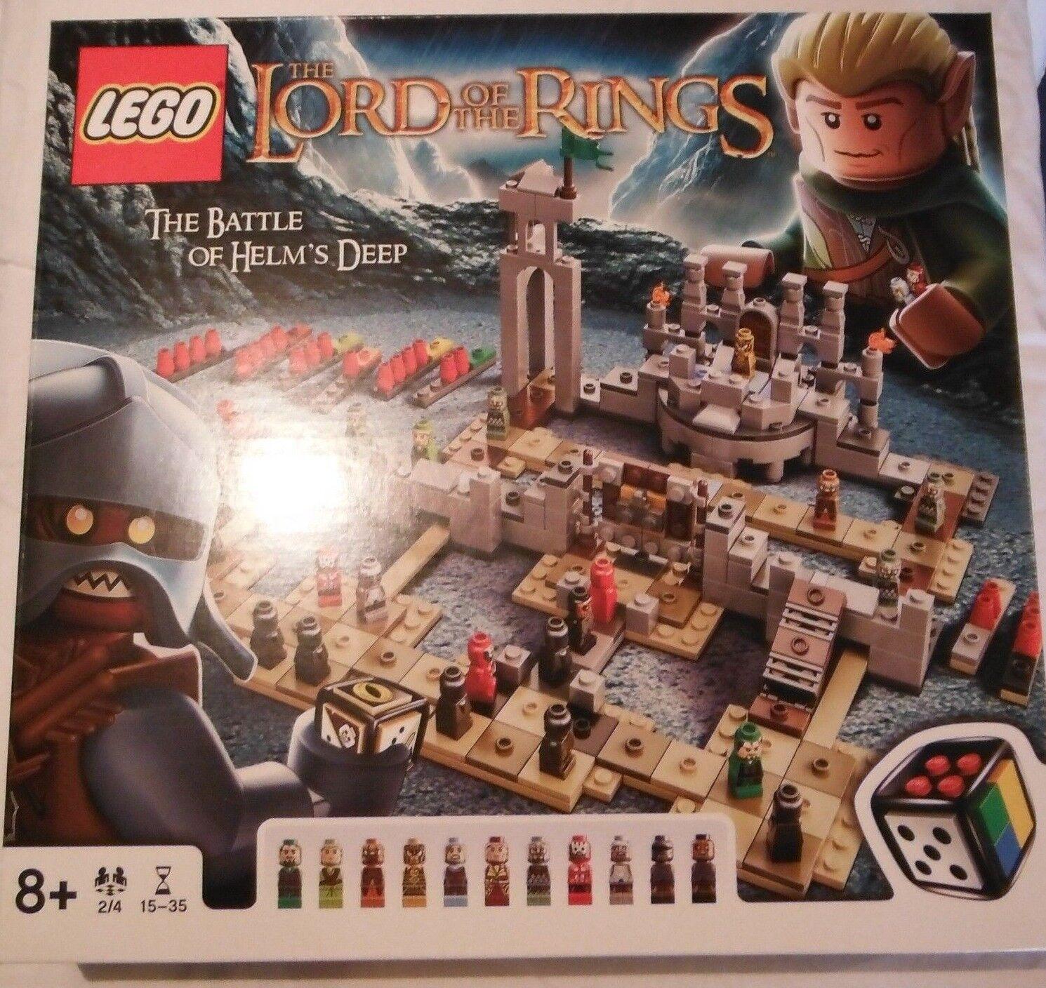 Lego 50011 - LotR - Herr der Ringe - Schlacht um Helm's Klamm - Neu & OVP