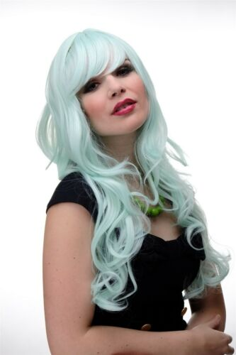 Ladies' Wig Cosplay Green Light Green Wavy Long Fringe Smooth 285T5507 65cm