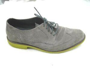 Cole-Haan-gray-suede-oxfords-Mens-wingtips-dress-shoes-sz-10M-43