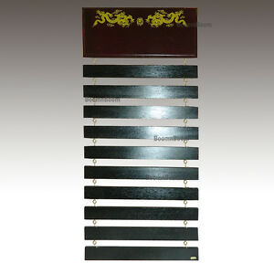 New Taekwondo Belt Display Rack Karate MMA Martial Arts Belt Holder-10 Belts