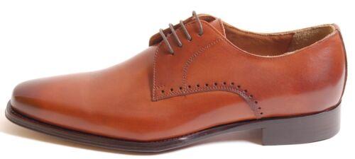 1735 À Fait Italien Lacets A Uni Main Cuir La Chaussure Acc Patine Véritable w8nvmN0O