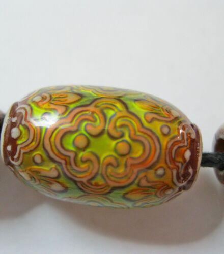 NELLYS Mirage Mood Beads-Perlen Muster Persian Beauty Perlen rund 21x13,6mm