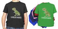 PERSONALISED KIDS Dinosaur T-SHIRT T Rex Boys, Girls  ANY NAME BIRTHDAY GIFT