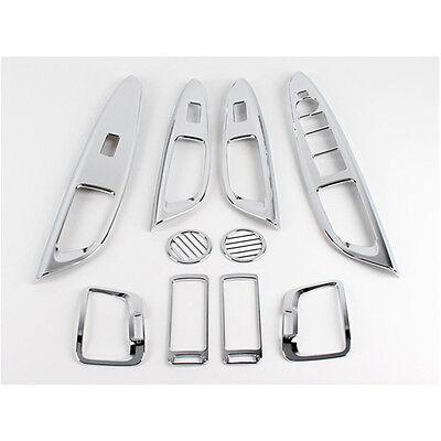 Interior Chrome Molding Kit Trim Set For KIA 2008-2011 Forte Cerato