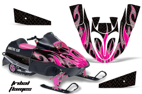 Snowmobile Graphics Kit Decal Sticker Wrap For Arctic Cat Sno Pro 120 TRIBAL P K