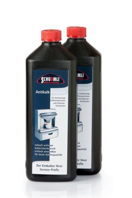 Express Entkalker SCHUEMLI antikalk premium für Kaffeevollautomaten 2 Liter