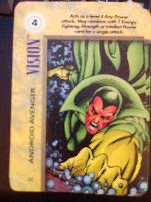 Marvel Overpower IQ Bishop Paramilitary Skill X2 NrMint-Mint Card