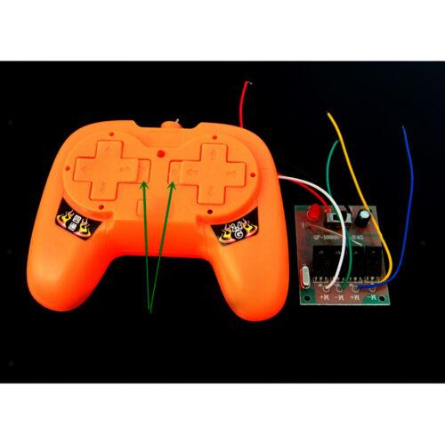 2.4G Fernbedienung Sender Empfänger Set Kinder RC Spielzeug Autoteil Orange
