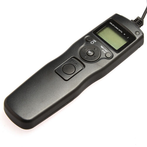 A550 A850 A500 A33 Control Remoto Medidor de intervalo del temporizador para Sony Alpha A55 un