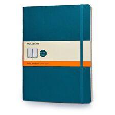 Moleskine Soft Extra Large Underwater Blue Ruled Notebook 9788867323753