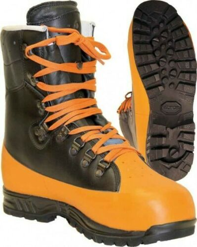 CLASS 3 UK 8 MEINDL TIMBERKING CHAINSAW BOOTS Size 42 BRAND NEW IN BOX