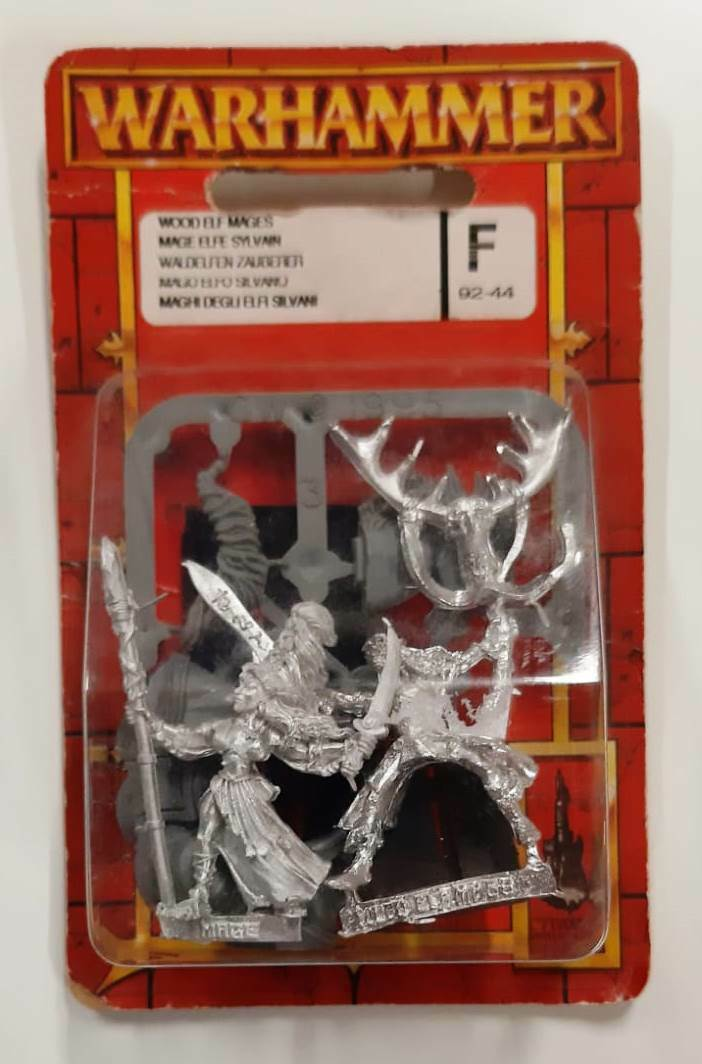 ▲ WARHAMMER WH 92-44 Wood Elf Mages BLISTER