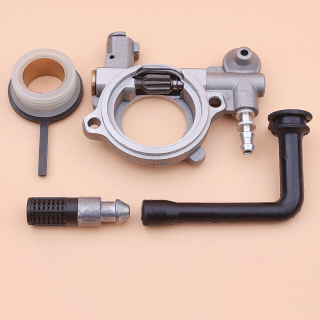 MagiDeal Oil Pump With Oil Line Filter Replacement Kit For STIHL 026 024 MS240 MS260