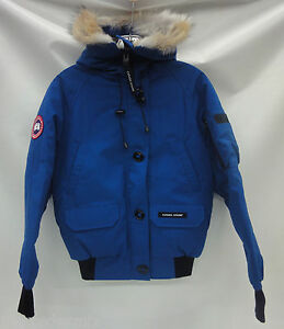 Canada-Goose-Women-039-s-Chilliwack-Bomber-Jacket-7950L-Pacific-Blue-Size-2XS