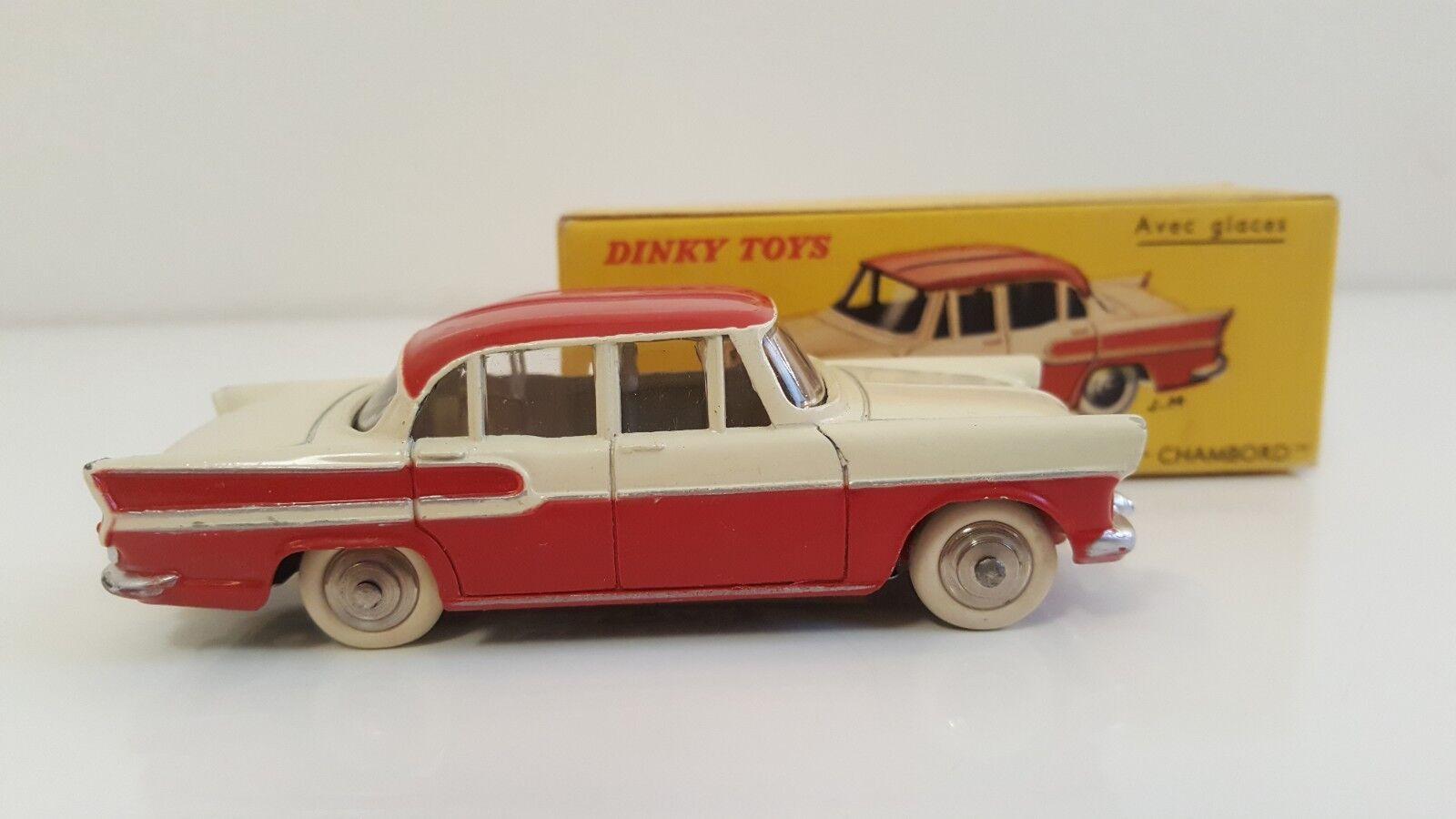 Dinky Toys - 24 K - Simca Vedette Chambord en B.O. VN Mib  DTF, pas Atlas