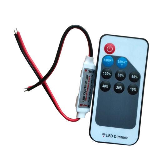 9-Key RF Remote Switch Controller Dimmer für einfarbige LED-Streifen Licht