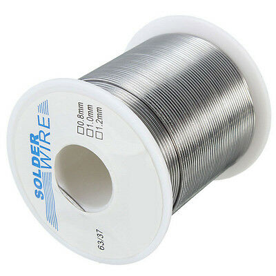 200g FLUX 2.0% 63/37 Tin/lead Rosin Core Solder Wire 1.0mm Soldering Welding
