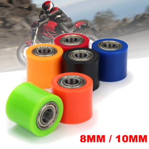 10mm Chain Roller Pulley Slider Tensioner Wheel Guide For Pit Dirt Mini Bike