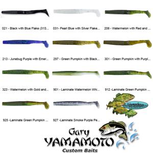 9-10 Stick Bait Worm Any 116 Colors Bulk Lot Lures Gary Yamamoto Senko 5 Inch