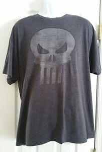 845880fe65081d Vintage PUNISHER Skull logo T shirt Men's Size 2XL Official Marvel ...