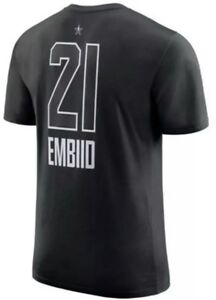 85940055e07 Image is loading Authentic-Nike-Joel-Embiid-Philadelphia-76ers-Sixers-T-