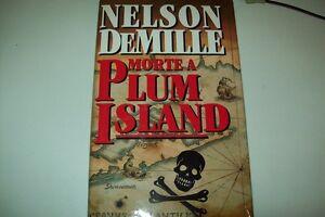 NELSON-DeMILLE-MORTE-A-PLUM-ISLAND-EUROCLUB-BALDINI-RILEGATO-OTTIMO-STATO
