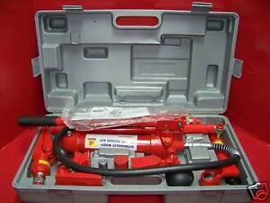 4 Ton Porta Power Hydraulic Body Frame Repair Kit Tools Ebay