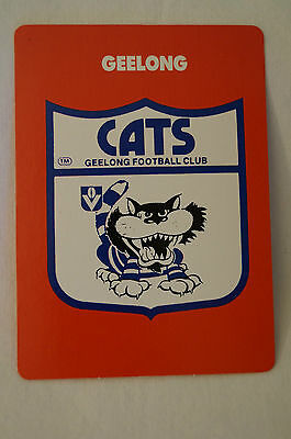 GEELONG CATS - Team Logo and Stats. - 1989 Stimorol Card.