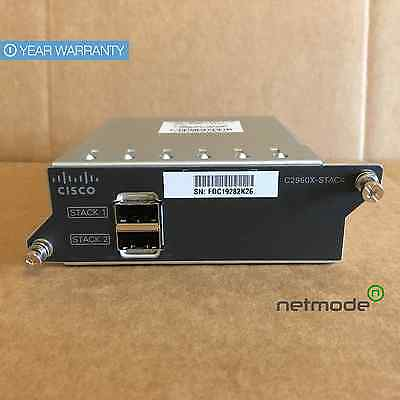 *New Sealed* Genuine Cisco C2960X-STACK Stacking Module comes with CAB-STK-0.5