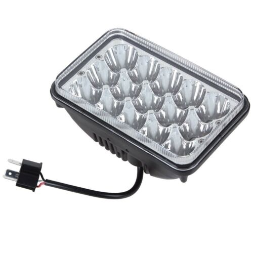 4pcs LED Headlights High Low Beam Headlamp Bulb Set For Chevy Pickup 1981-1987