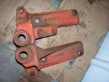 Vintage Ji Case 830 Row Crop Tractor Eagle Hitch Anchor Set