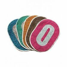 SA Collections Set of 5 Round Cotton Door Mat-(Size 13x18)