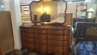 French Provincial Dresser and Mirror Winnipeg Manitoba Preview