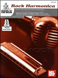 Rock-Harmonica-Sheet-Music-Book-Audio-Learn-How-To-Play-School-Of-The-Blues