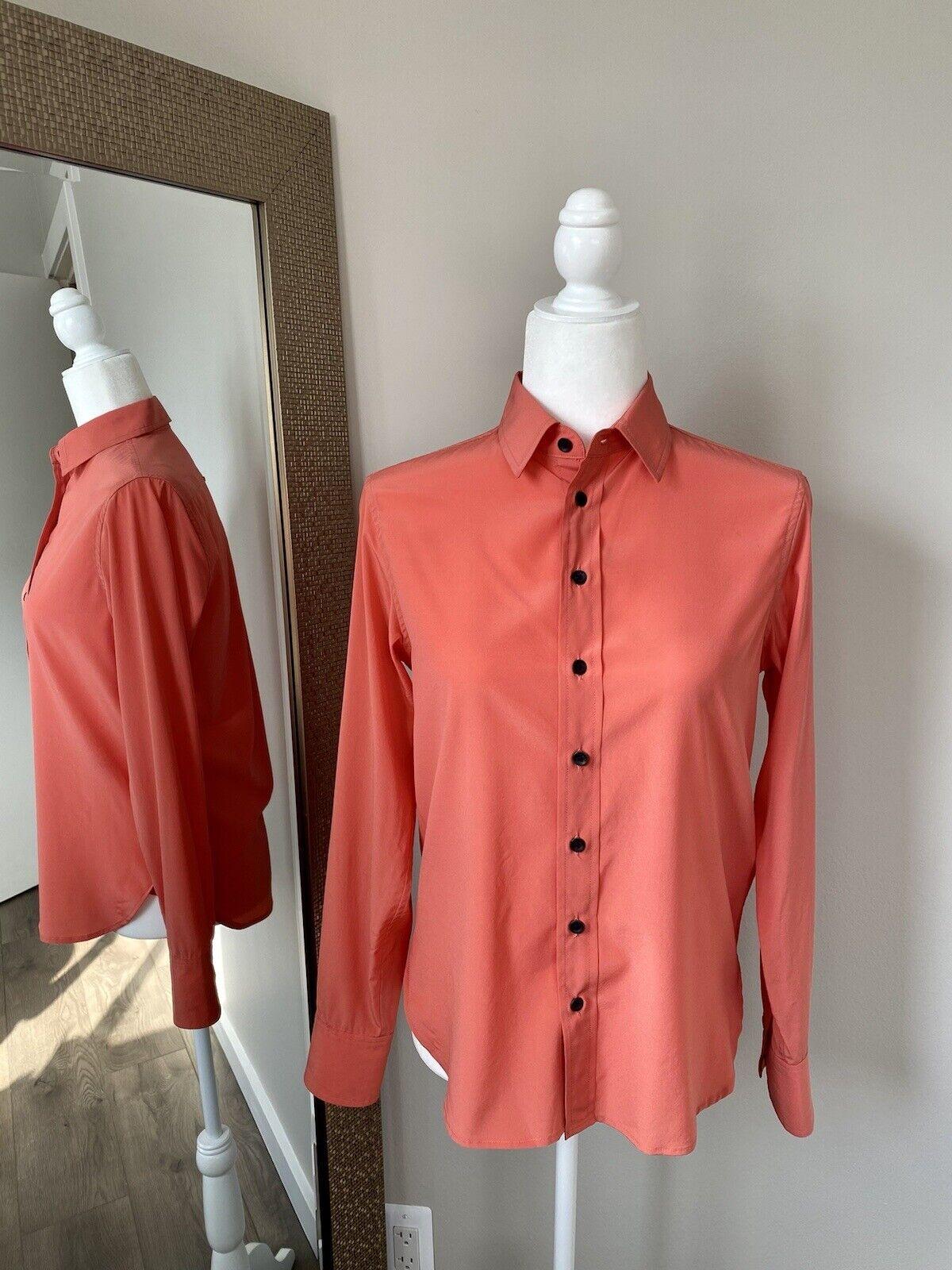 rag and bone silk blouse - image 1