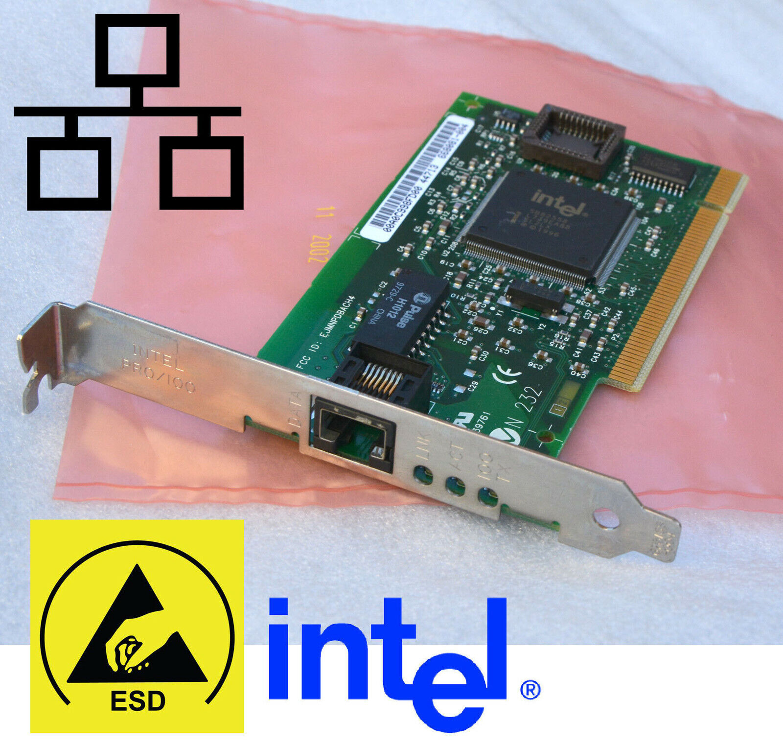 PCI LAN Card Intel pro/100 668081