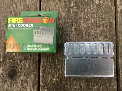 BCB FIRE DRAGON SOLID FUEL British Army Hexi Stove Fire Lighter MOD Firedragon