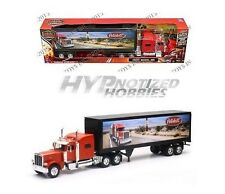 NEWRAY 1:32 PETERBILT MODEL 389 ROUTE 66 DESIGN DIE-CAST RED SS-13453